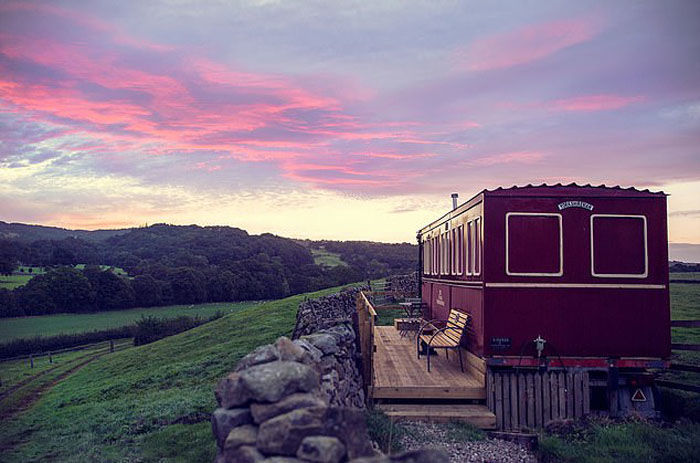 Необычный дом британки Эммы Хаммонд из вагона, фото № 10
