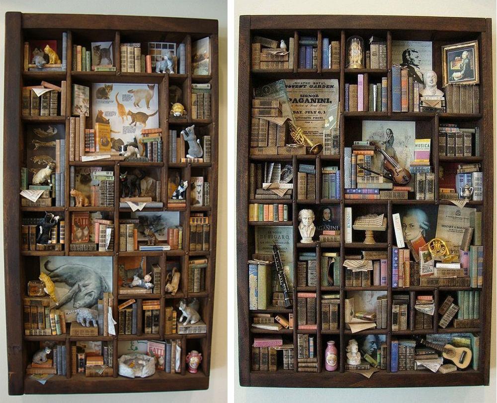 Коллекционируем красиво: 40+ впечатляющих полок для хранения коллекций, фото № 2