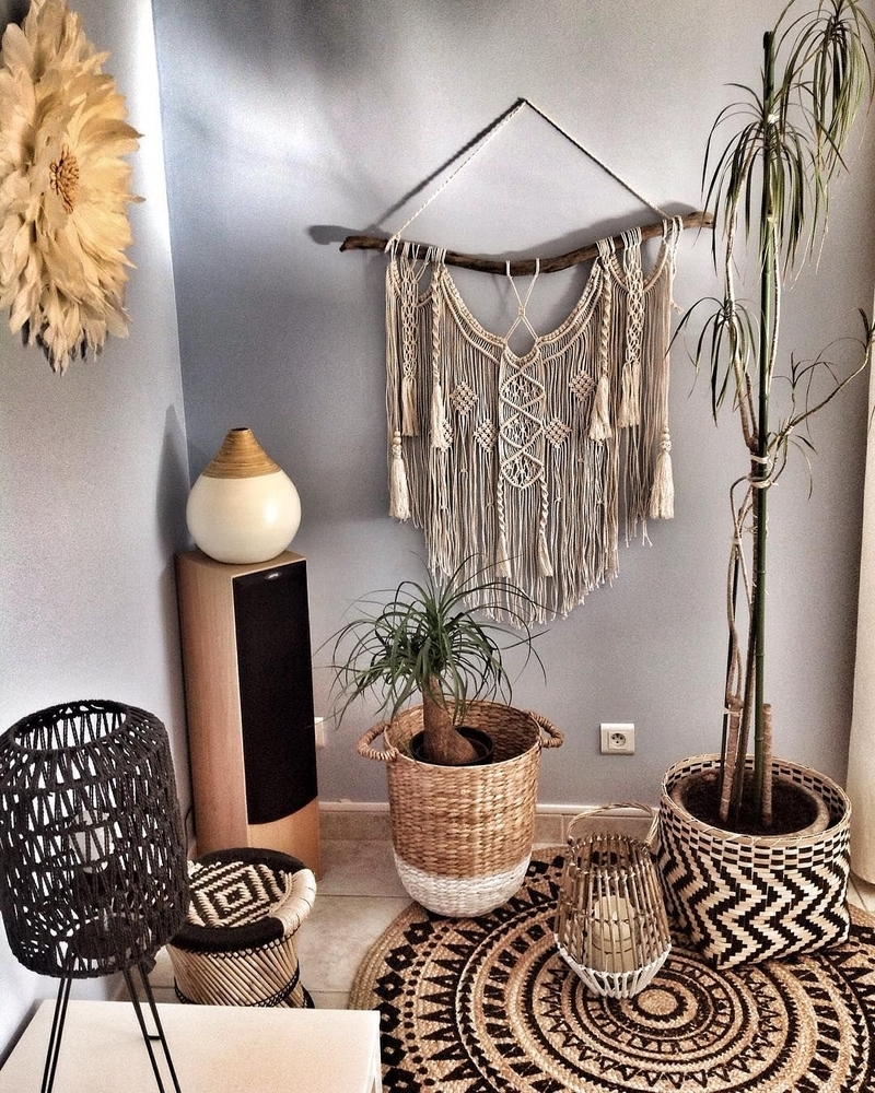 Tangled Story: 35 Ideas of Macrame in Interior, фото № 1