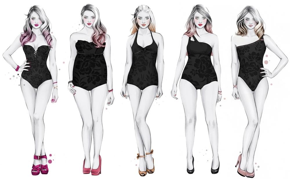 Выбор платья, часть 1. Подбор фасона по фигуре, фото № 1