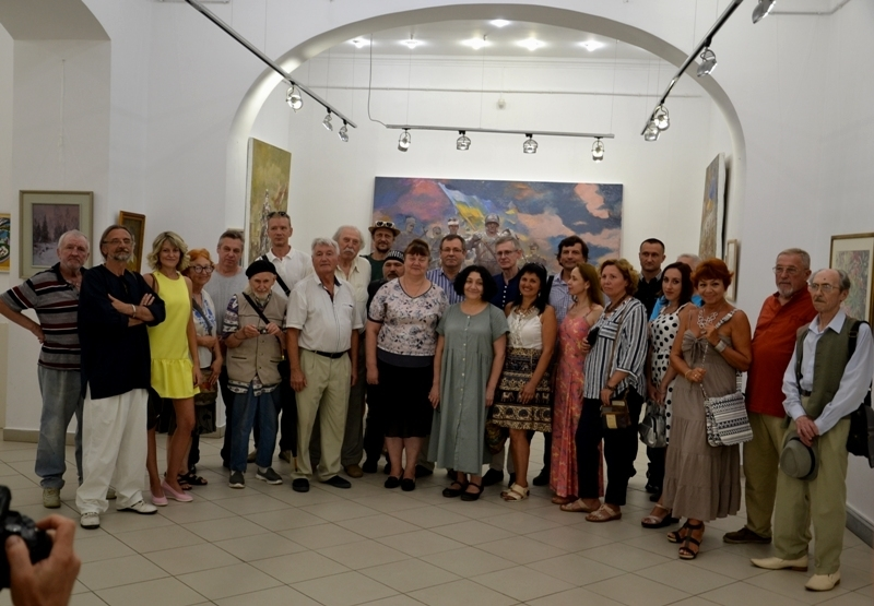 Областная художественная выставка посвященная Дню Независимости, фото № 9