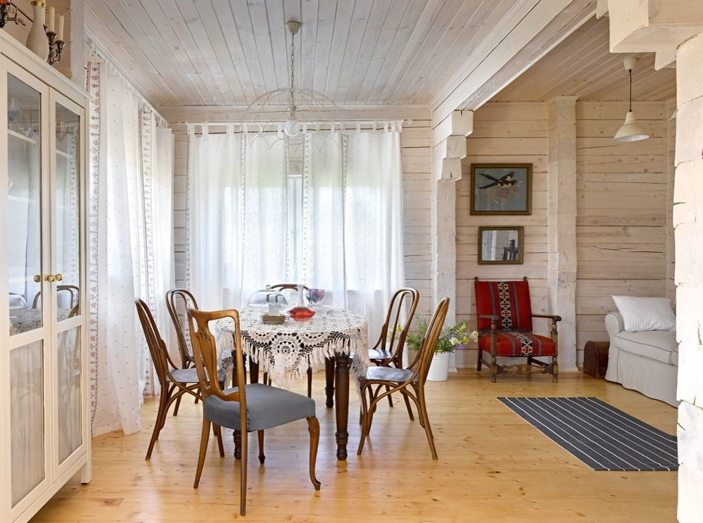 Белый цвет в дачном интерьере, фото № 13