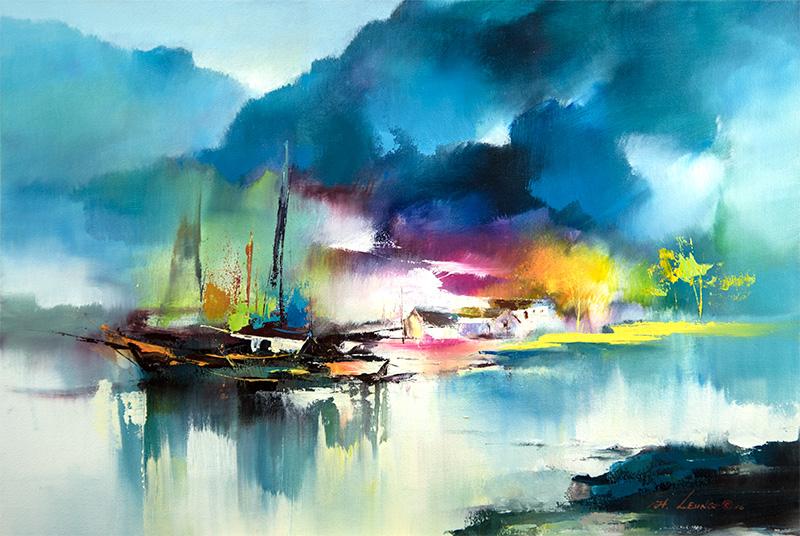 Кен Хонг Лунг — мастер волшебных пейзажей, фото № 9
