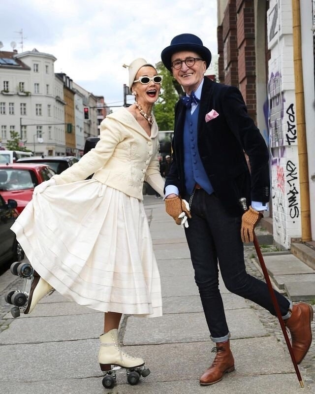История о том, как берлинские пенсионеры Гюнтер и Бритт живут на полную катушку и радуются жизни!, фото № 3