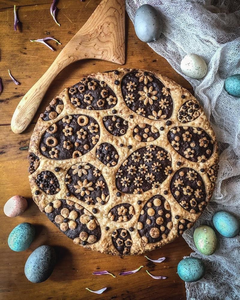 Самоучка печет пироги невероятной красоты: кулинарные шедевры от Helen Nugent + 3 секрета идеальной выпечки, фото № 41