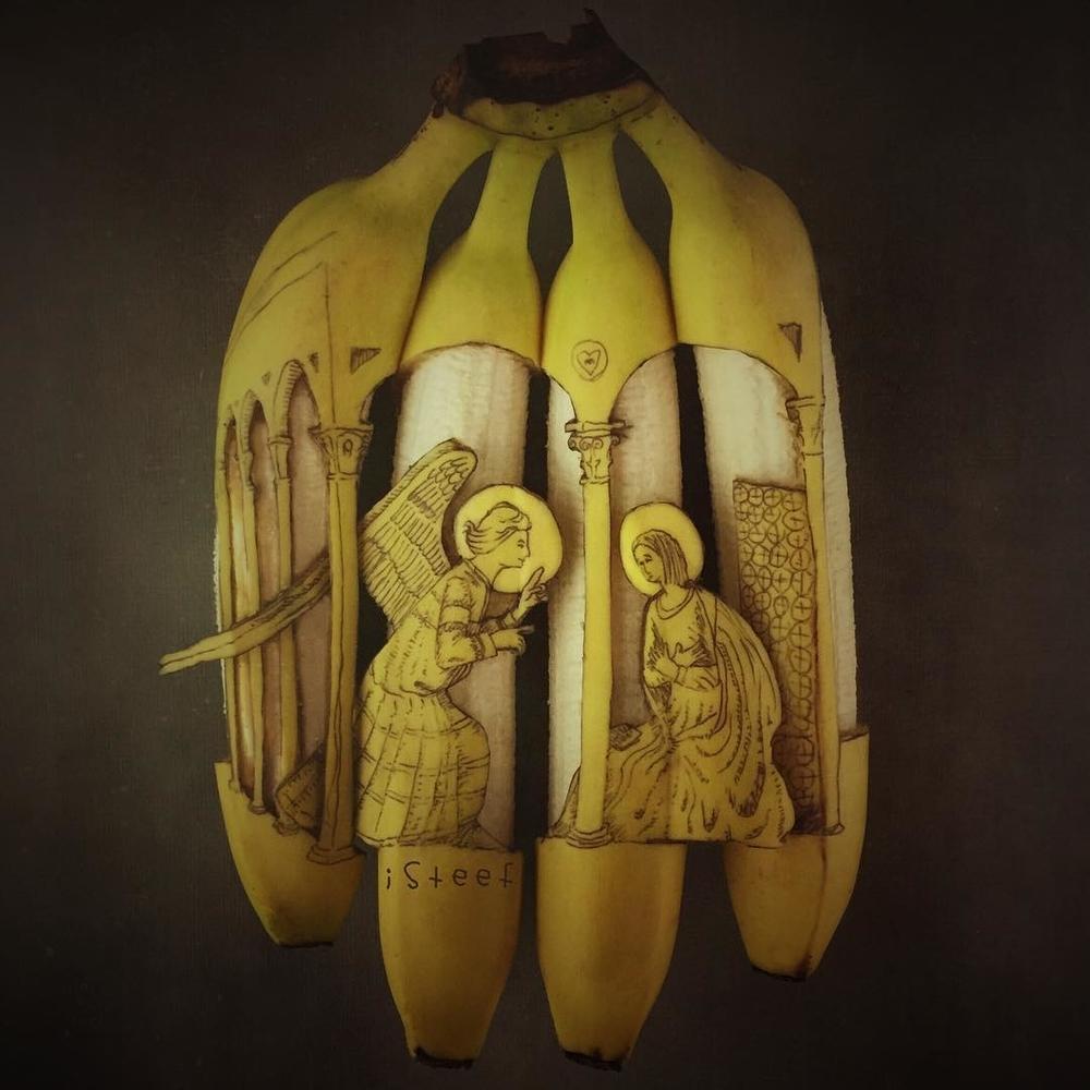 Повелитель бананов Стивен Брюче меняет наше привычное представление об этом фрукте в своём творчестве!, фото № 18