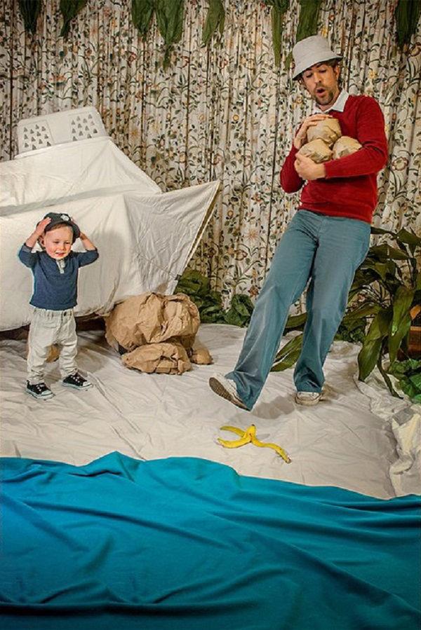 Что будет, если творческим людям дать много картонных коробок Лион Мэки и Лилли Лэнг — творческая семья киноманов, фото № 26