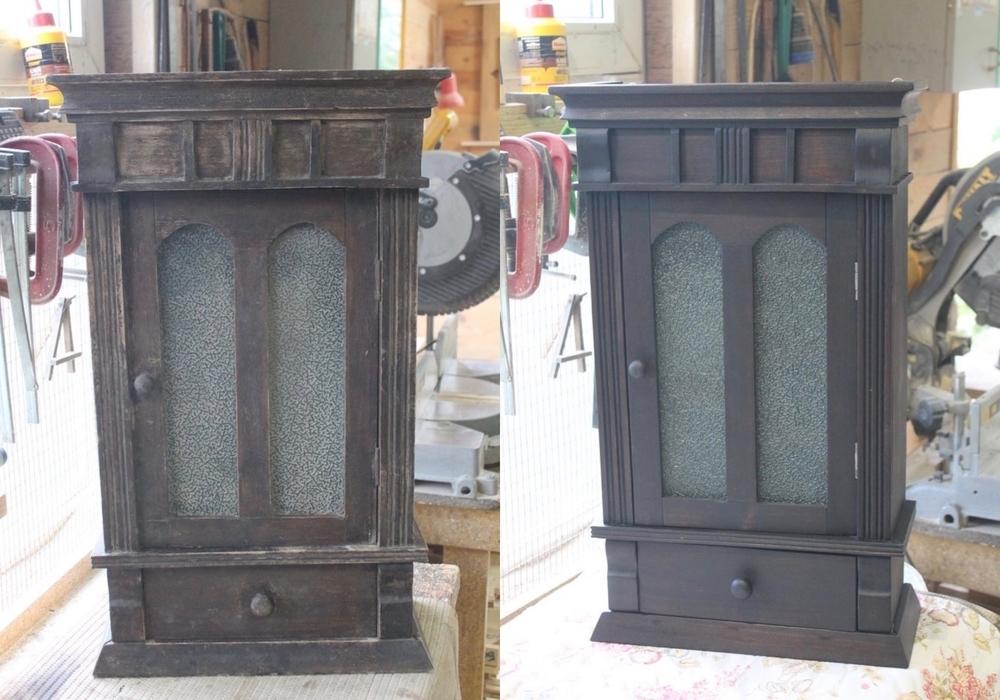 Реставрация старого шкафчика, фото № 14