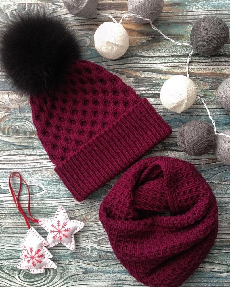 К зиме готовы! 50 идей вещей для вязания спицами, фото № 11