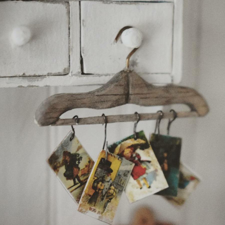 Финская художница создает дома мечты... в миниатюре, фото № 42