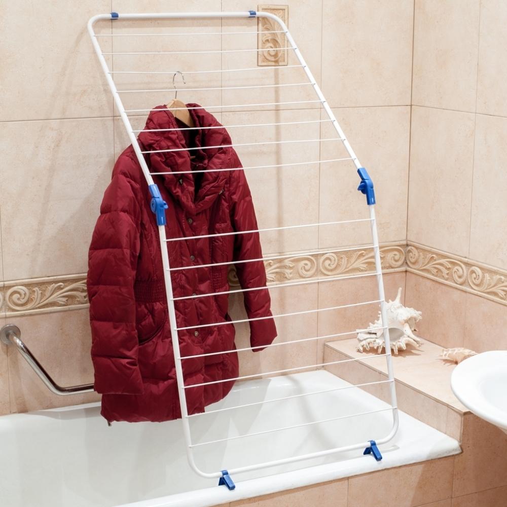 Где сушить белье в квартире красиво и удобно? (33 обычных и необычных решений), фото № 4