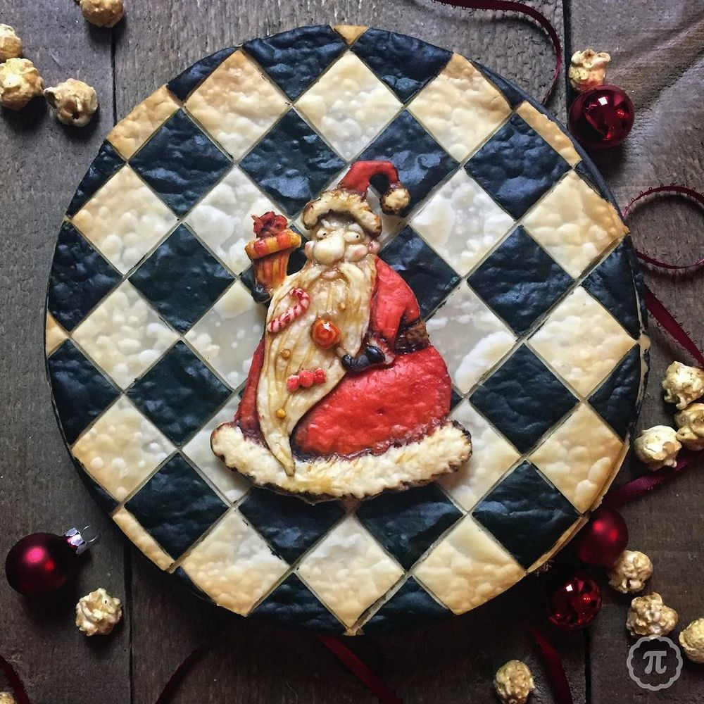 Self-Taught Cook Named Jessica Bakes Christmas Pies — And They Are Gorgeous!, фото № 16