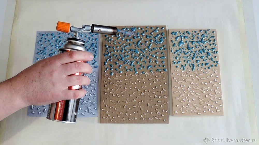 Застывший дождь, или как сделать эффект лотоса на любом материале, фото № 16