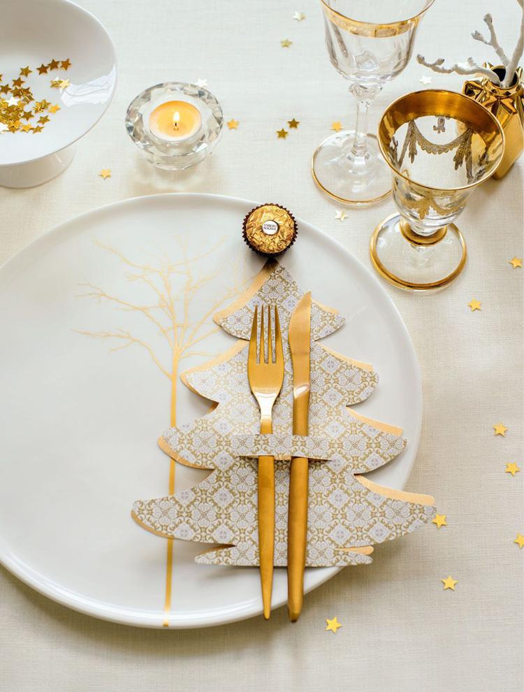 Золотой новогодний декор: 15 классных идей, фото № 35