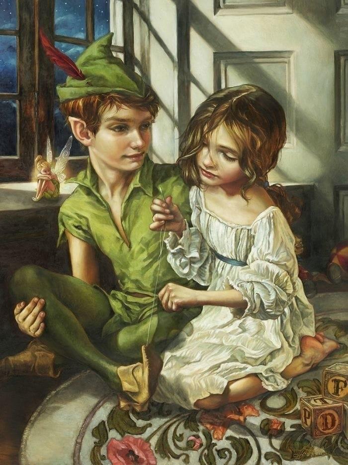 Художница нарисовала диснеевских принцесс в духе эпохи Возрождения. Что из это получилось? Смотрите и удивляйтесь, фото № 11