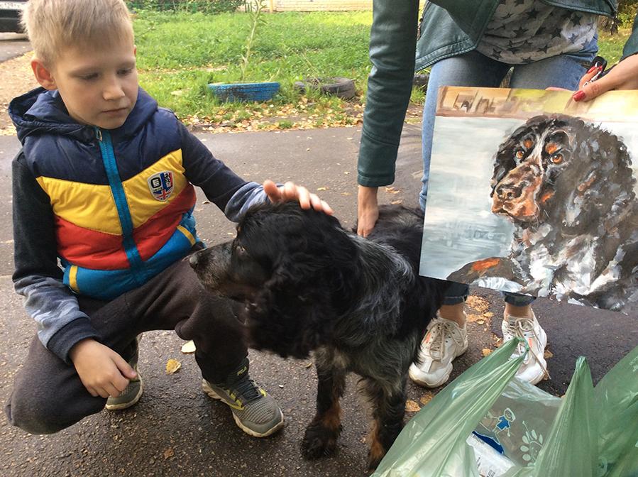 9-летний художник спасает животных из приюта: удивительный проект «Добрая кисть», фото № 14