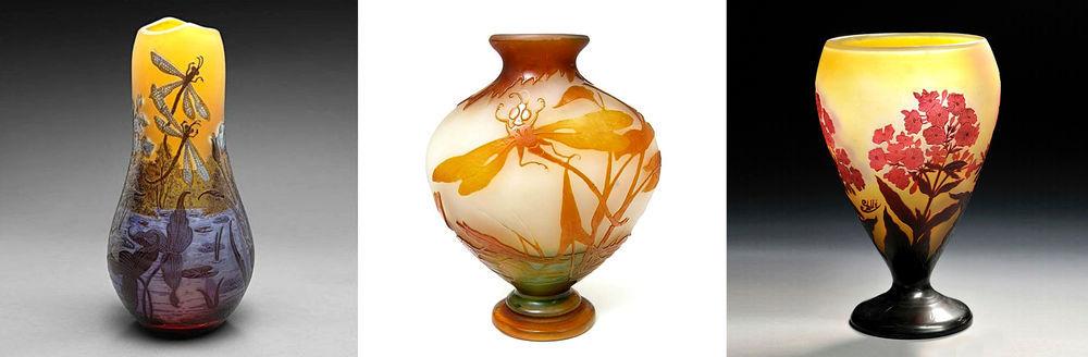 Ожившее стекло Эмиля Галле