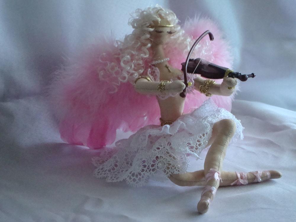 кукла в подарок, текстильная кукла