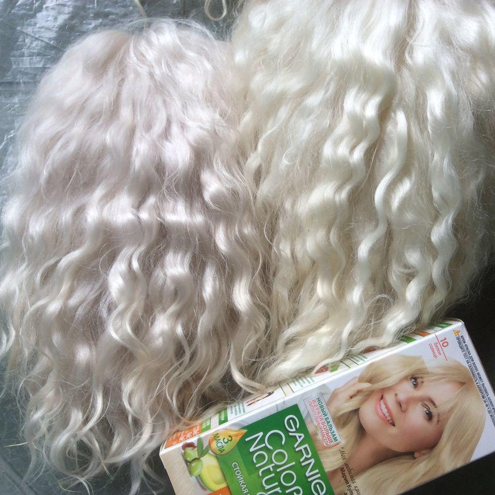 блонд для козочки, кукла в подарок
