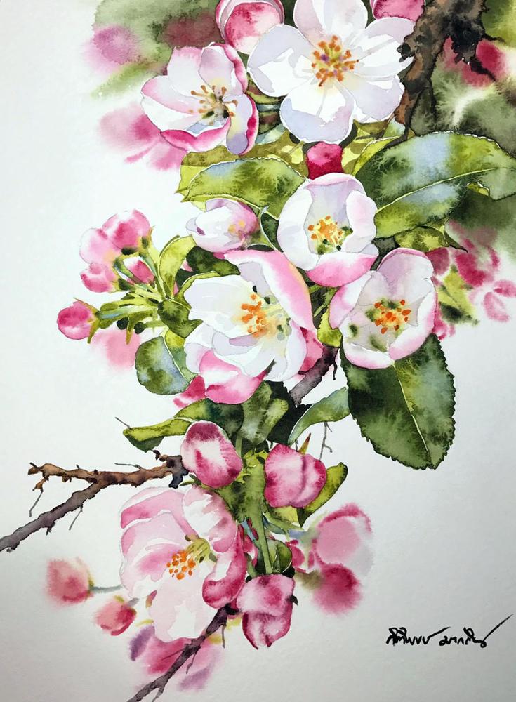 Watercolour Virtuoso: Kitipong Ti, фото № 13