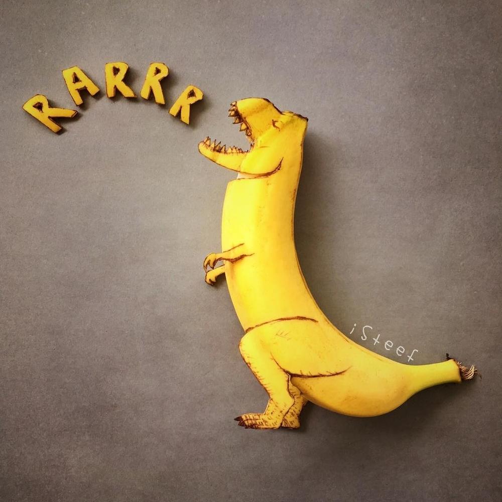 Повелитель бананов Стивен Брюче меняет наше привычное представление об этом фрукте в своём творчестве!, фото № 2