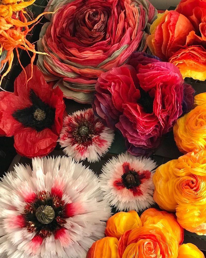 Потрясающие бумажные цветы датской художницы arianne riksen-cott ansen, фото № 34