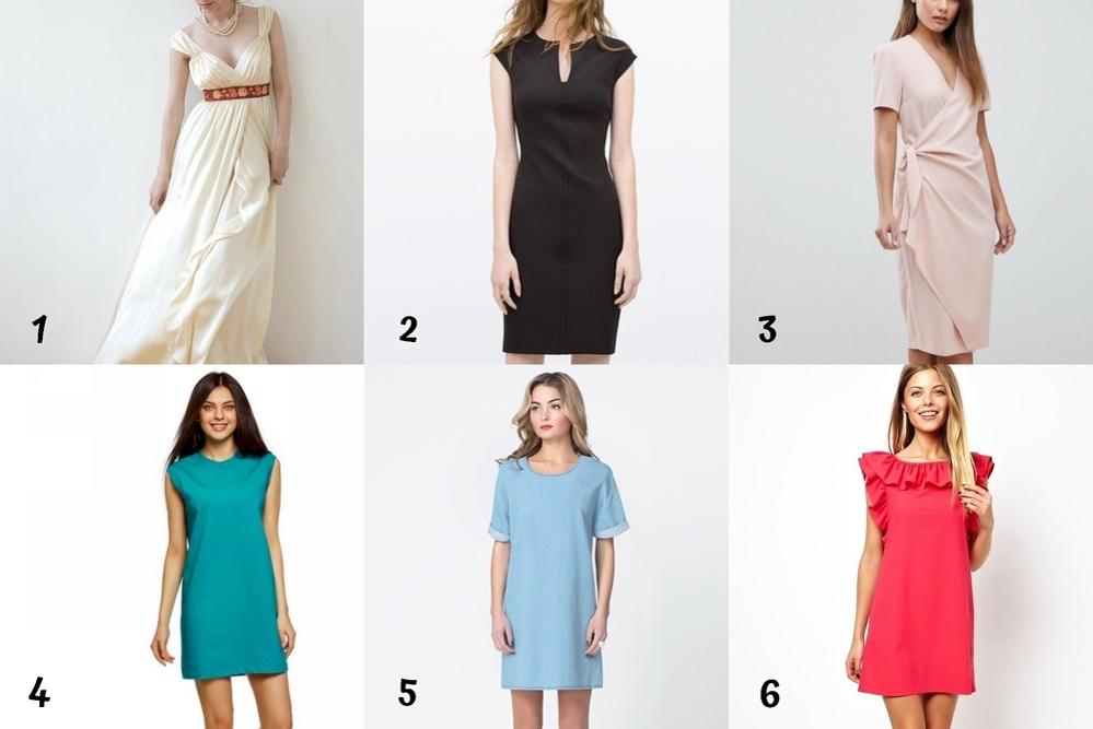 Выбор платья, часть 1. Подбор фасона по фигуре, фото № 4