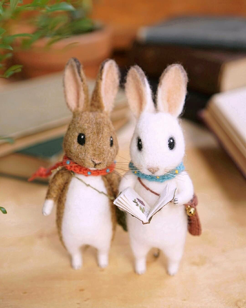 Mouse Stories: Adorable Felted Toys By Little Wool Tails, фото № 16