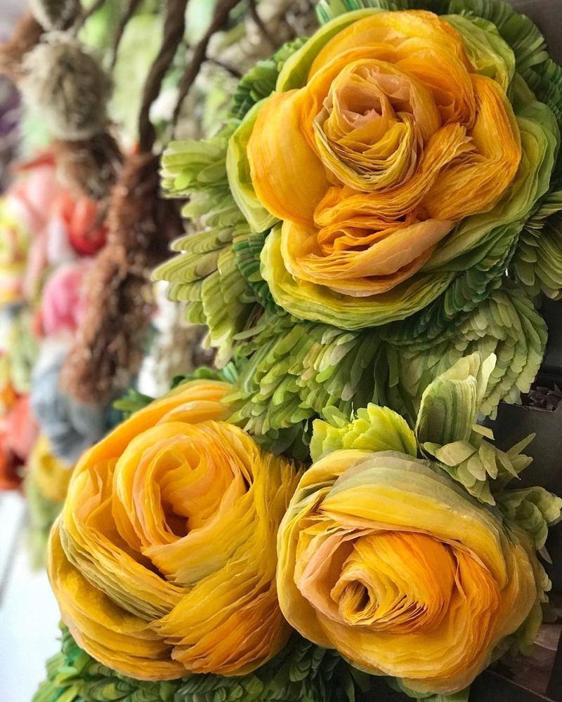 Потрясающие бумажные цветы датской художницы arianne riksen-cott ansen, фото № 31