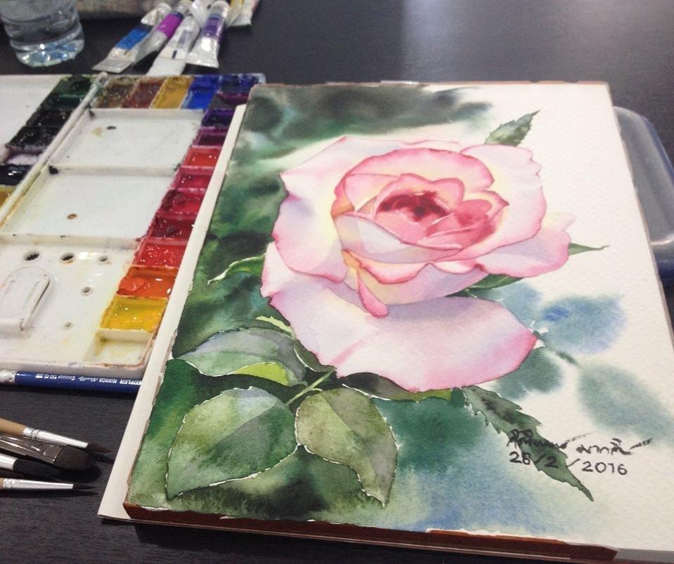 Watercolour Virtuoso: Kitipong Ti, фото № 41