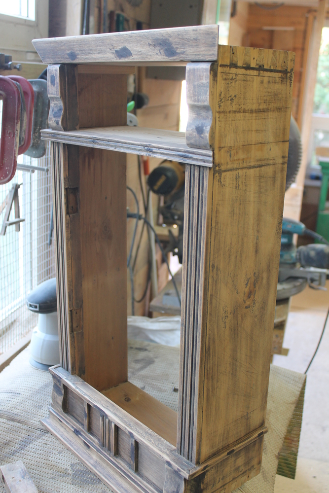 Реставрация старого шкафчика, фото № 10