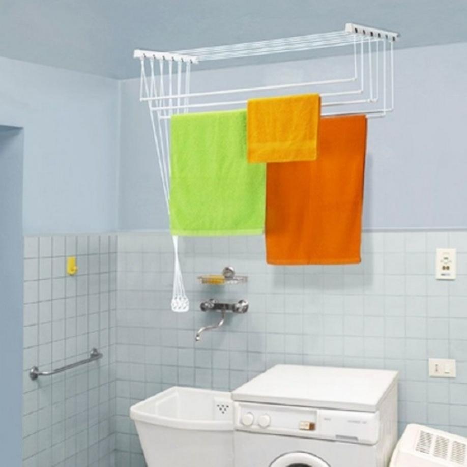 Где сушить белье в квартире красиво и удобно? (33 обычных и необычных решений), фото № 24