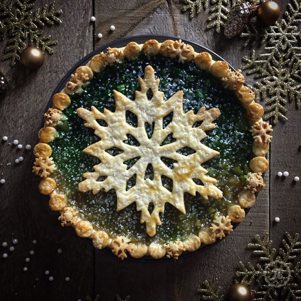 Self-Taught Cook Named Jessica Bakes Christmas Pies — And They Are Gorgeous!, фото № 2
