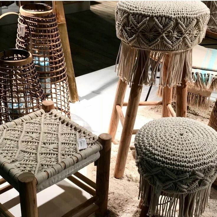 Tangled Story: 35 Ideas of Macrame in Interior, фото № 26