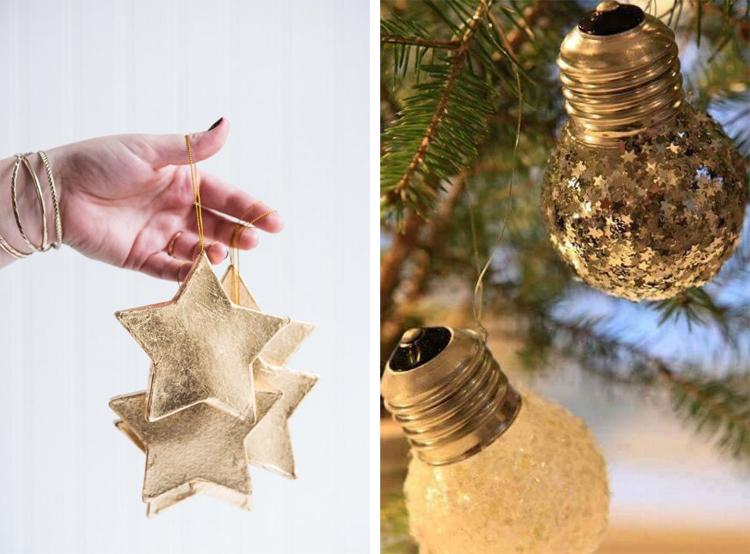 Золотой новогодний декор: 15 классных идей, фото № 3