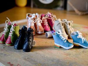 Мастер-класс: изготовление обуви для куколок. Ярмарка Мастеров - ручная работа, handmade.