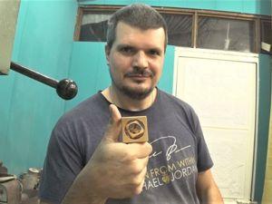 Головоломка «Куб в Кубе в Кубе» из дерева. Ярмарка Мастеров - ручная работа, handmade.