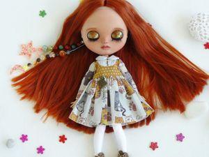 Блайз, рыжая девочка-осень. Ярмарка Мастеров - ручная работа, handmade.