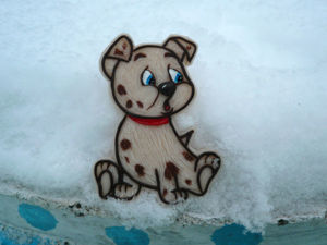 Создаем магнит «Собачка» из полимерной глины: видеоурок. Ярмарка Мастеров - ручная работа, handmade.