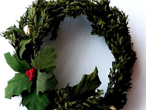 """Веночек """"Новогодний"""". Ярмарка Мастеров - ручная работа, handmade."""