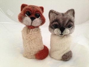 МК сувенирный кот или простая идея для игрушек из деревянного яйца. Ярмарка Мастеров - ручная работа, handmade.