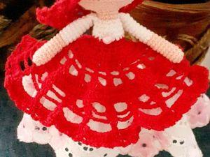 Кукла- хороводница вязаная. Ярмарка Мастеров - ручная работа, handmade.