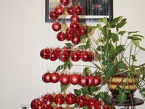 Создаем парящую елочку из шариков. Ярмарка Мастеров - ручная работа, handmade.