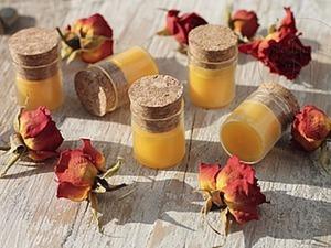Бальзам для губ «Апельсин и облепиха» своими руками. Ярмарка Мастеров - ручная работа, handmade.