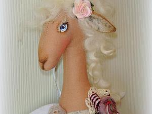 Шьём барышню-козу Адель. Часть 1. Ярмарка Мастеров - ручная работа, handmade.