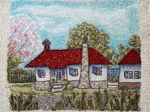 Новая работа  «Весенний пейзажик». Ярмарка Мастеров - ручная работа, handmade.