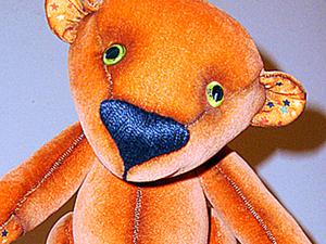 Чудный Рыжик: шьем милую игрушку. Ярмарка Мастеров - ручная работа, handmade.
