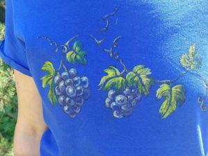 Роспись по ткани. Ярмарка Мастеров - ручная работа, handmade.