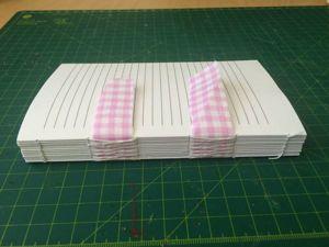 Мастер-класс по созданию блока блокнота. Ярмарка Мастеров - ручная работа, handmade.