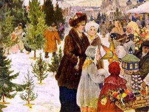 Новый год на старых картинах разных художников. Ярмарка Мастеров - ручная работа, handmade.